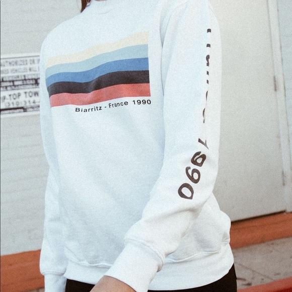 Brandy Melville Tops - NWT Brandy Melville France Sweatshirt